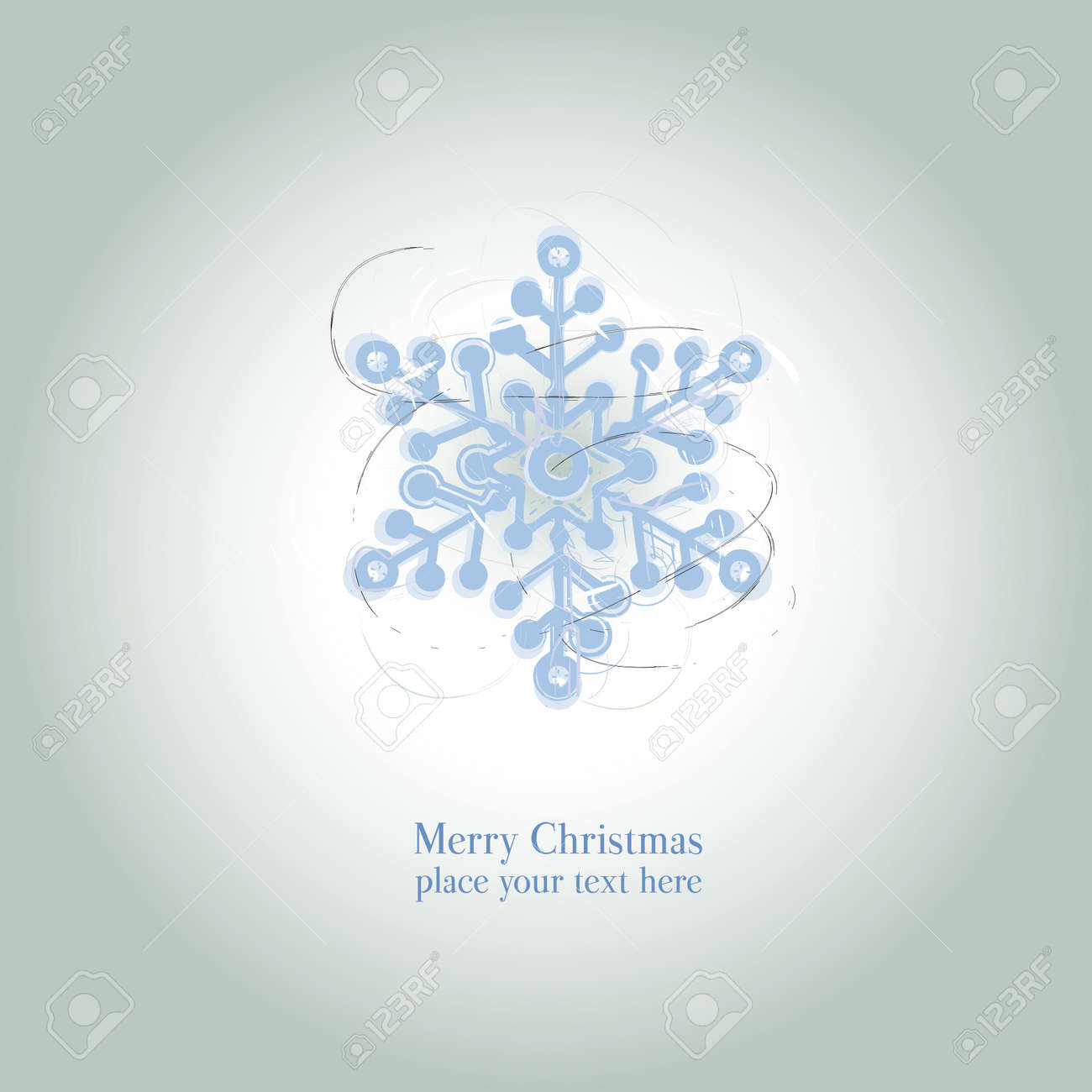 Christmas And New Year Beautiful Card, Graphic Christmas Star ...