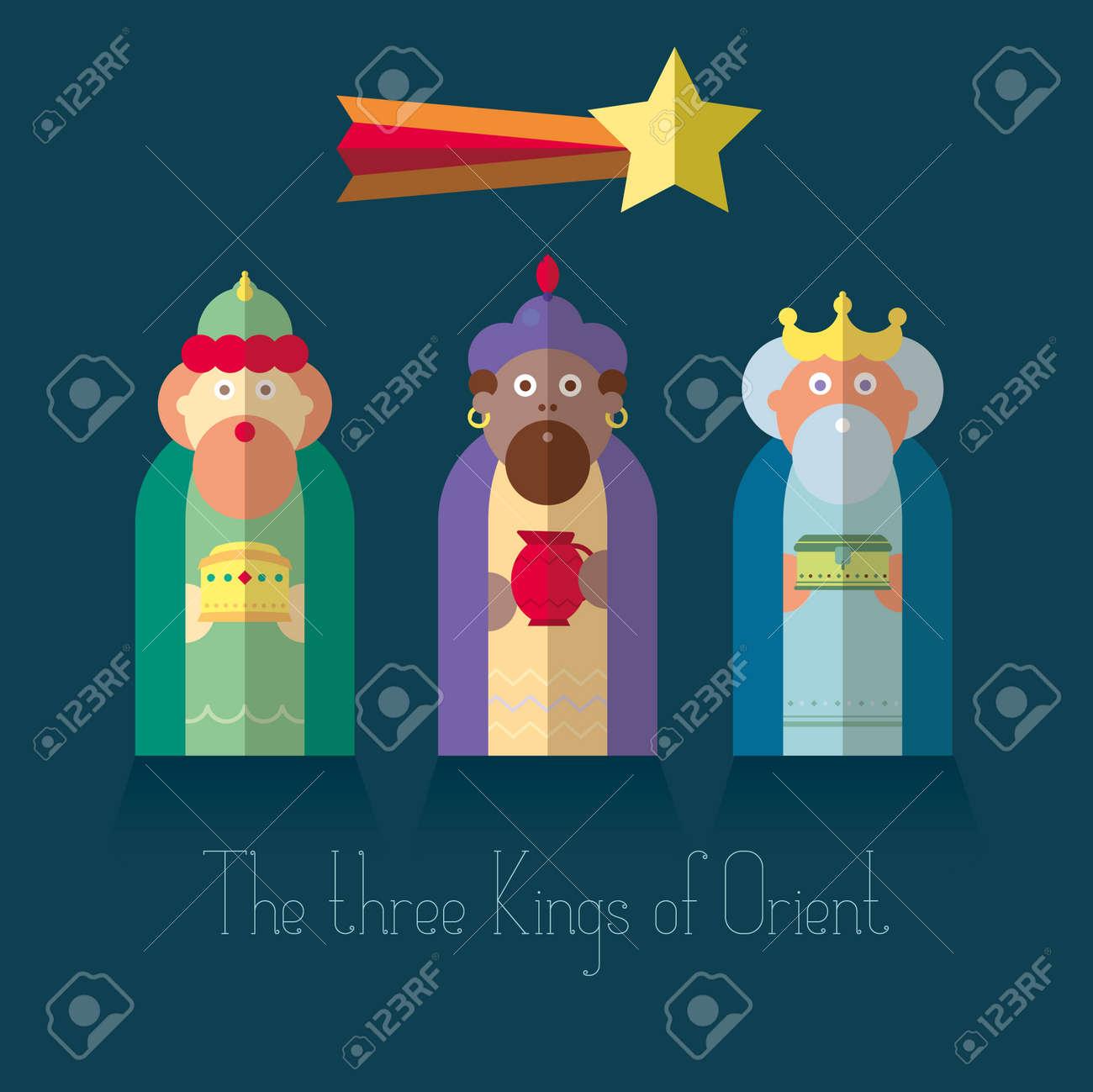 The three Kings of Orient wisemen - 33719002