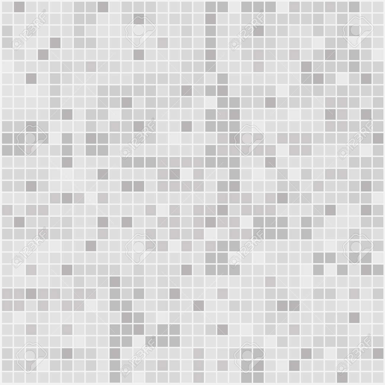 Pattern Mosaic Tiles Texture Stock Vector