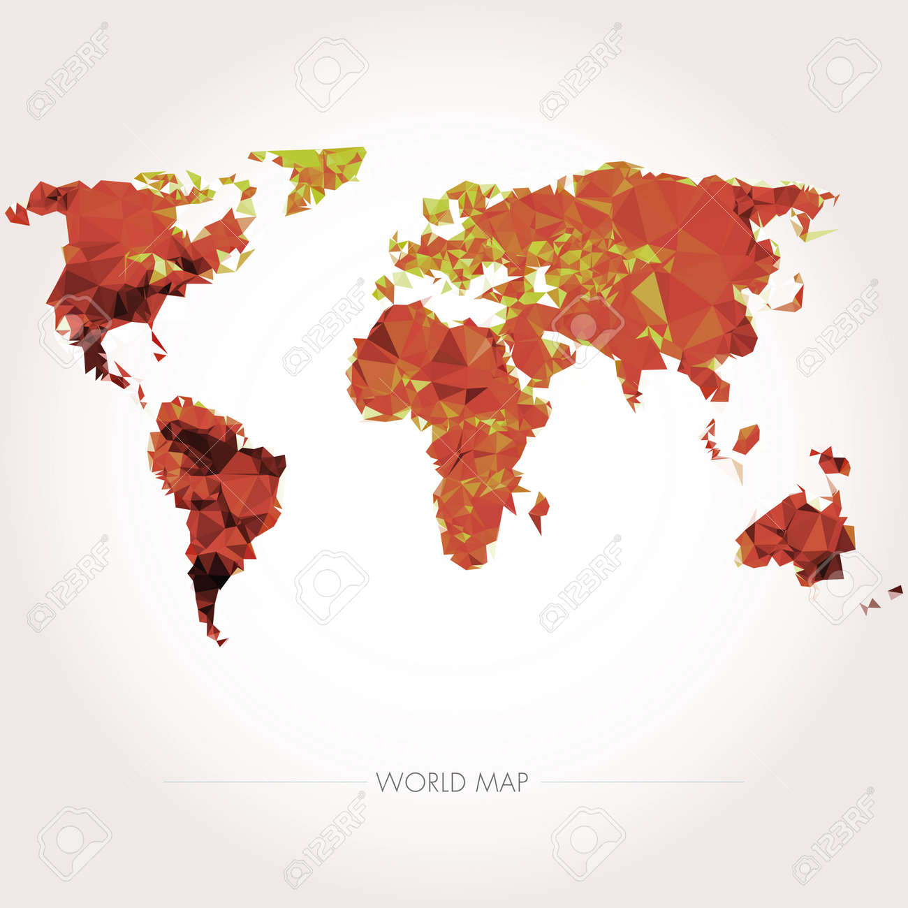 Earth world map low poly vector illustration royalty free earth world map low poly vector illustration stock vector 38167875 gumiabroncs Images