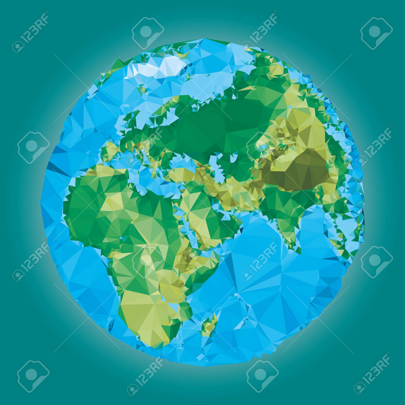 Earth world map low poly vector illustration royalty free cliparts earth world map low poly vector illustration stock vector 38167879 gumiabroncs Images