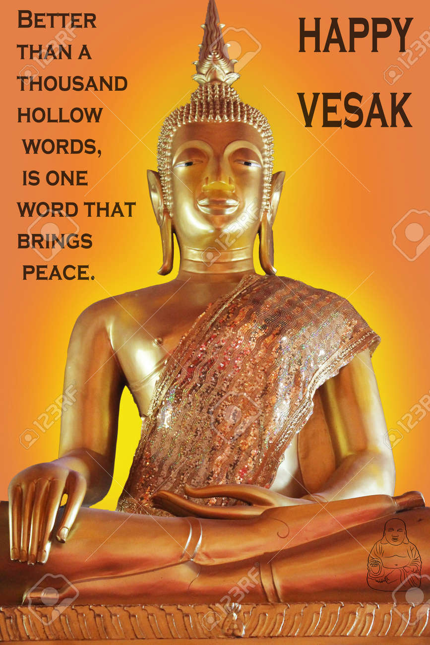 Happy vesak day with a buddha icon stock photo picture and royalty happy vesak day with a buddha icon stock photo 57772506 kristyandbryce Image collections