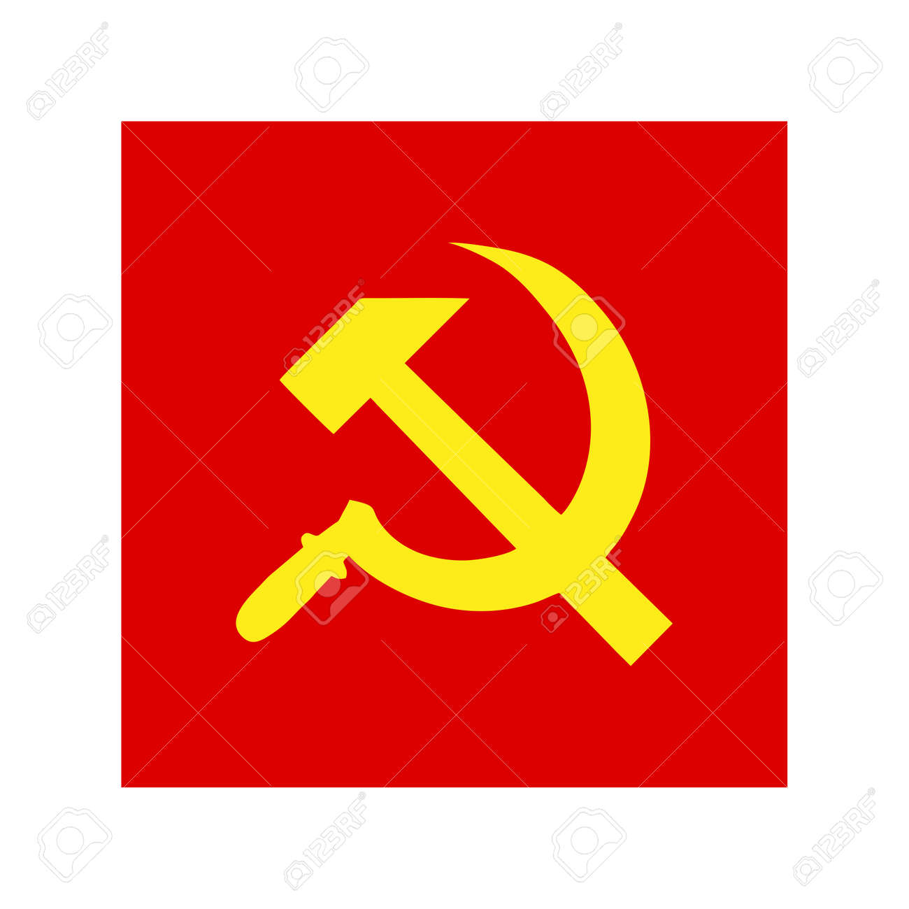 Ussr Sickle And Hammer Symbol
