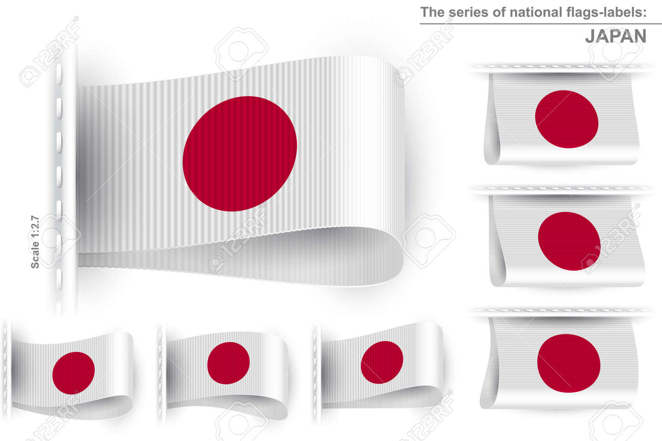 Flag Of Japan Symbol Of The Japanese National Patriotic Pride