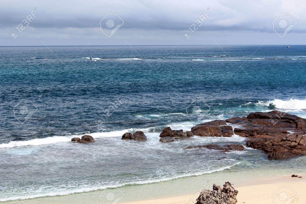 Indian Ocean coastline at Margaret River south western Australia Stock Photo - 15958243