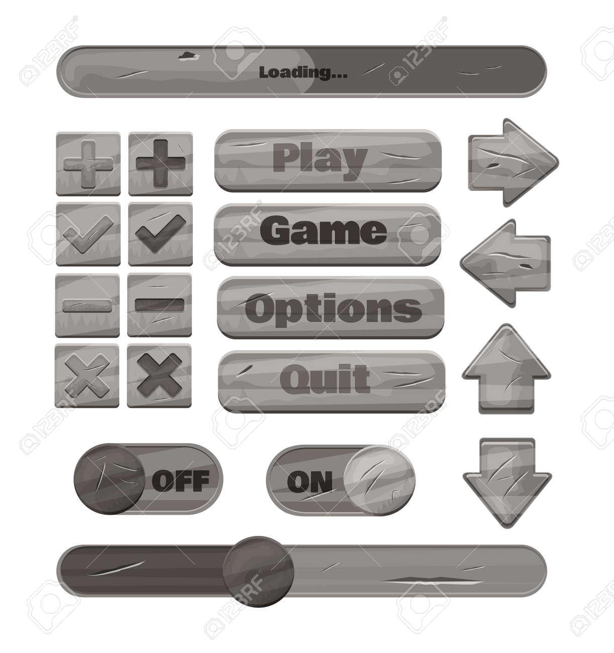 Universal metal UI Kit for designing responsive gaming applications