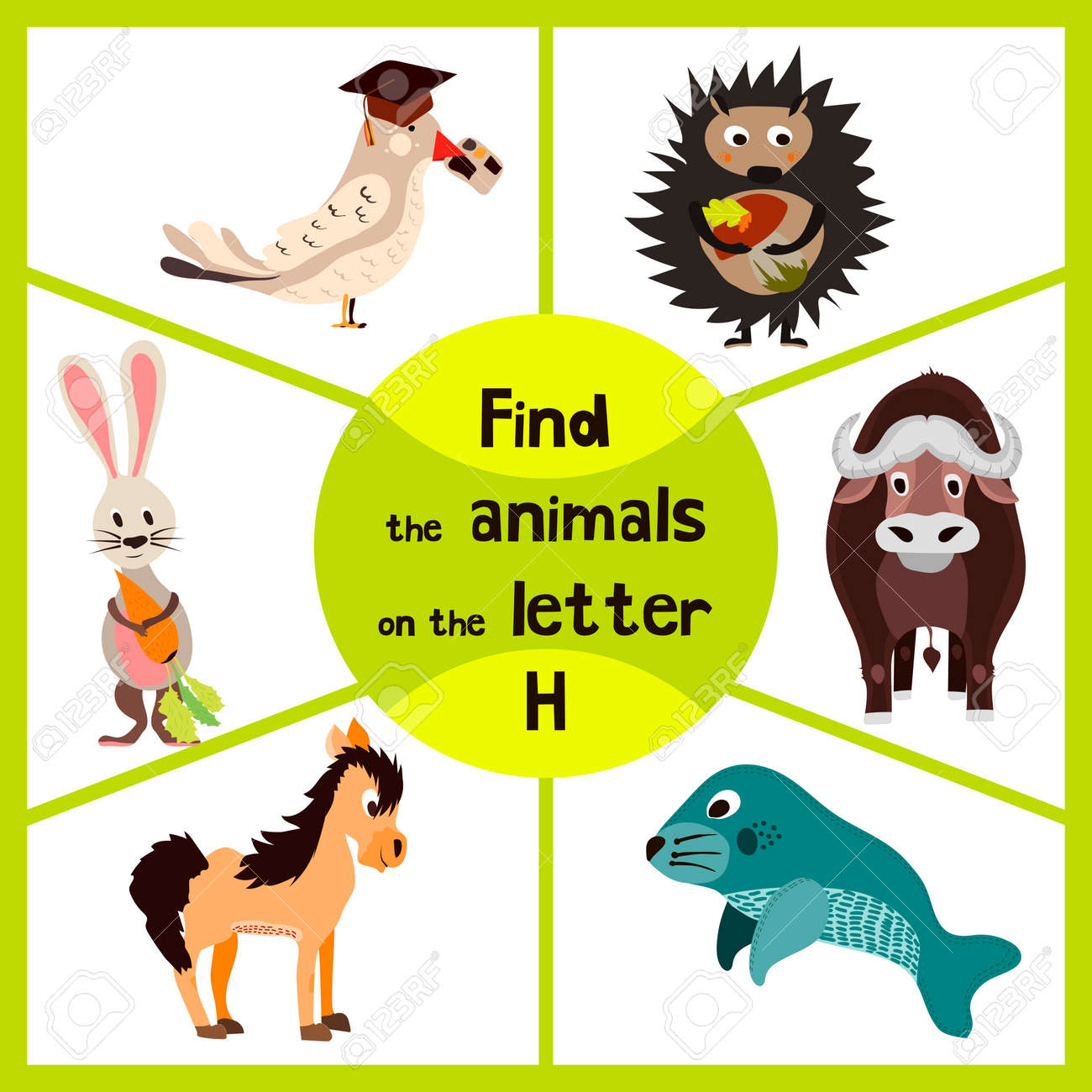 Funny Learning Maze Game, Find All Of Cute Wild Animals 3 The