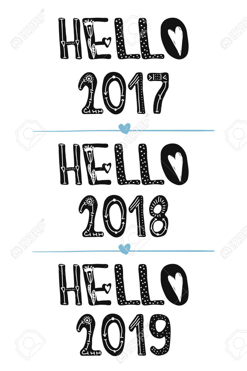 Ordinaire Hello 2018. Hello 2019. Motivational Quotes. Sweet Cute Inspiration,