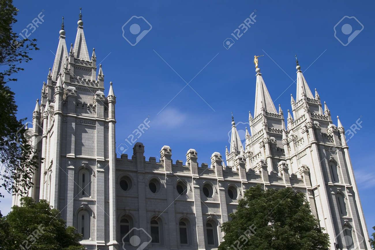 Salt Lake City Utah Mormon Church of Jesus Christ of Latter-day