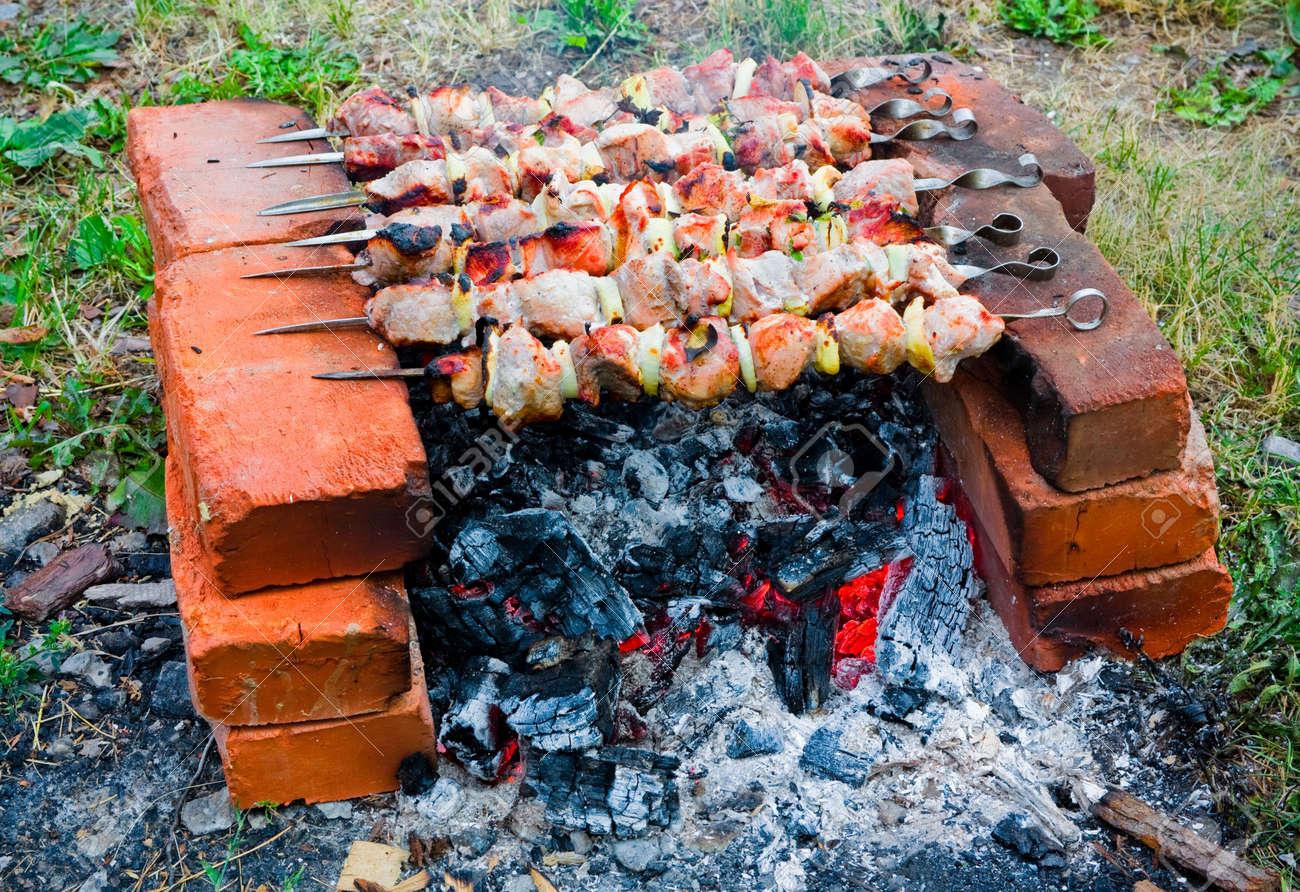 Shish Kebab in The Oven Shish Kebab on The Improvised