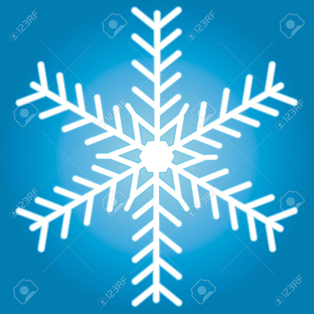 Snowflake for vector design Stock Vector - 13076125