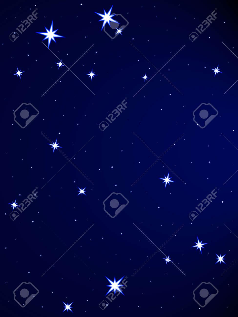 Gemini constellation on the starry sky Stock Vector - 25202029