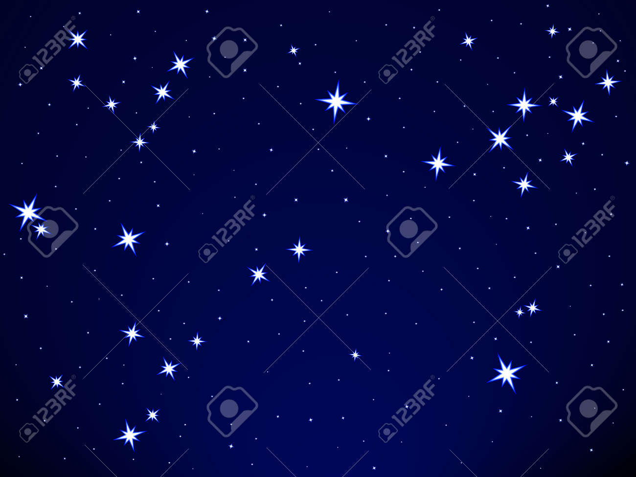 Pisces constellation on the starry sky Stock Vector - 25202050