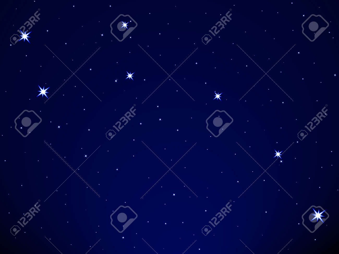 Little Dipper on the starry sky - 31383084
