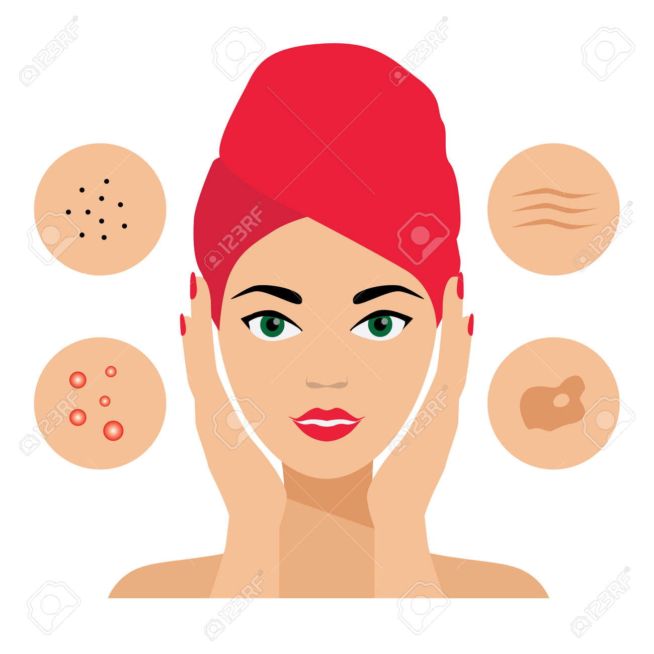 Facial Care, Skin Defects  Skin Problems, Acne, Seborrhea, Seborrheic