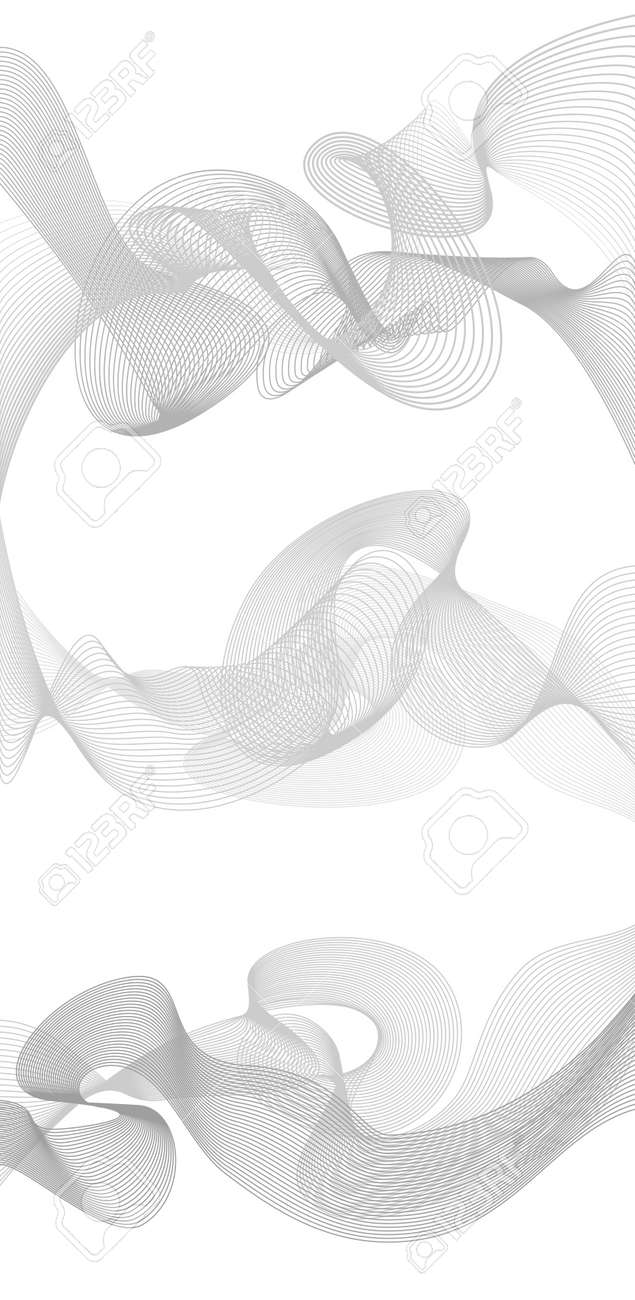 Abstract Wave Element For Design Greyscale Royalty Free Cliparts Vectors And Stock Illustration Image 51820731