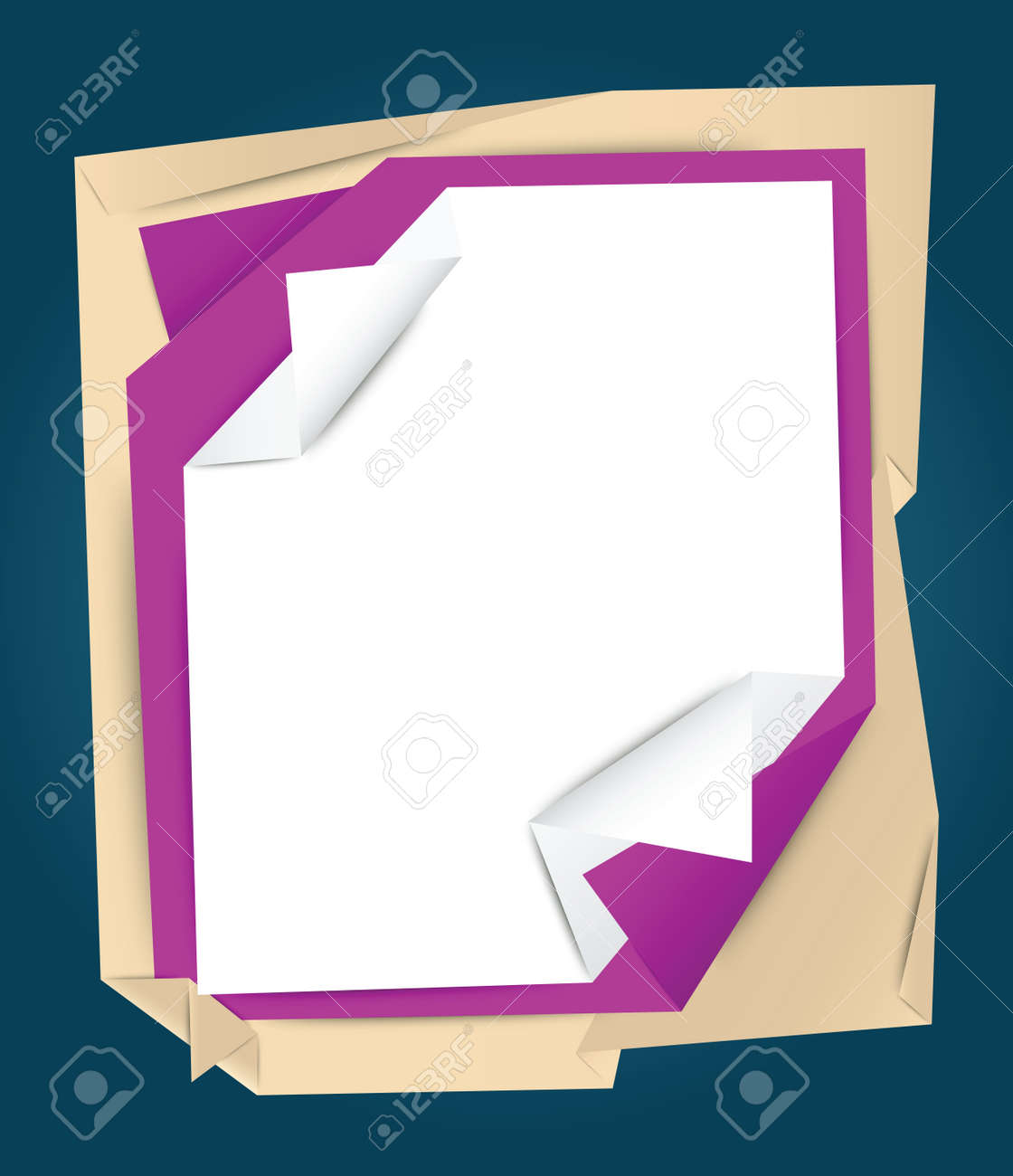 Stack of papers background - 26552035