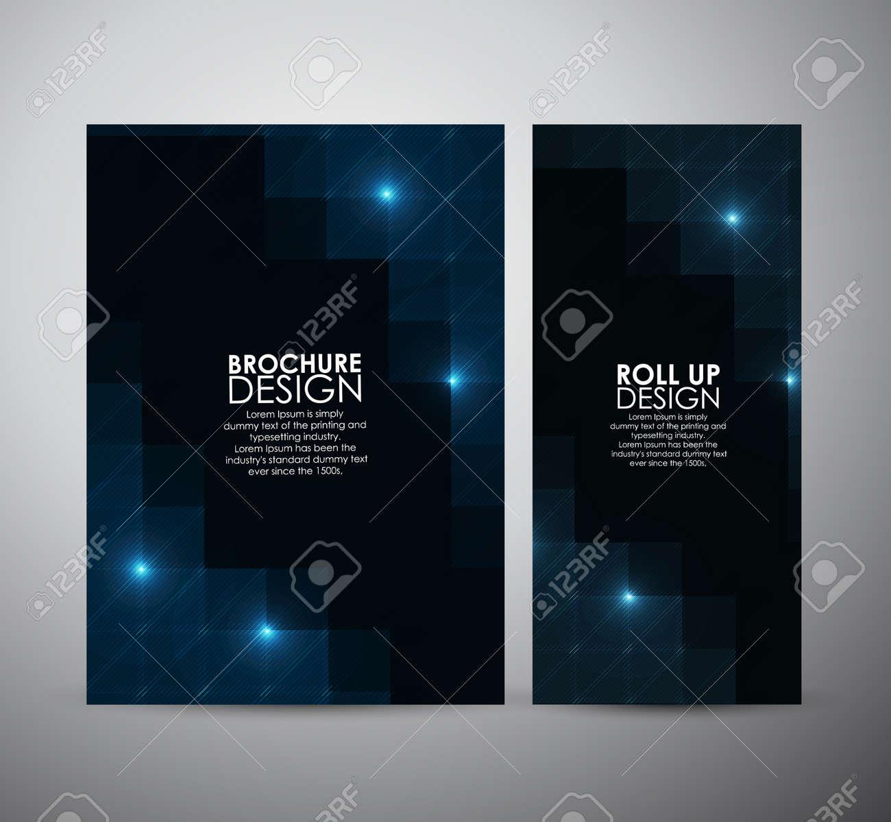 Broschüre Business-Design Abstrakte Moderne Muster Stilvolle Textur ...