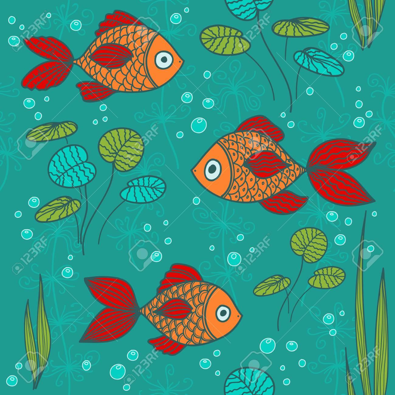 los peces en un estanque foto de archivo