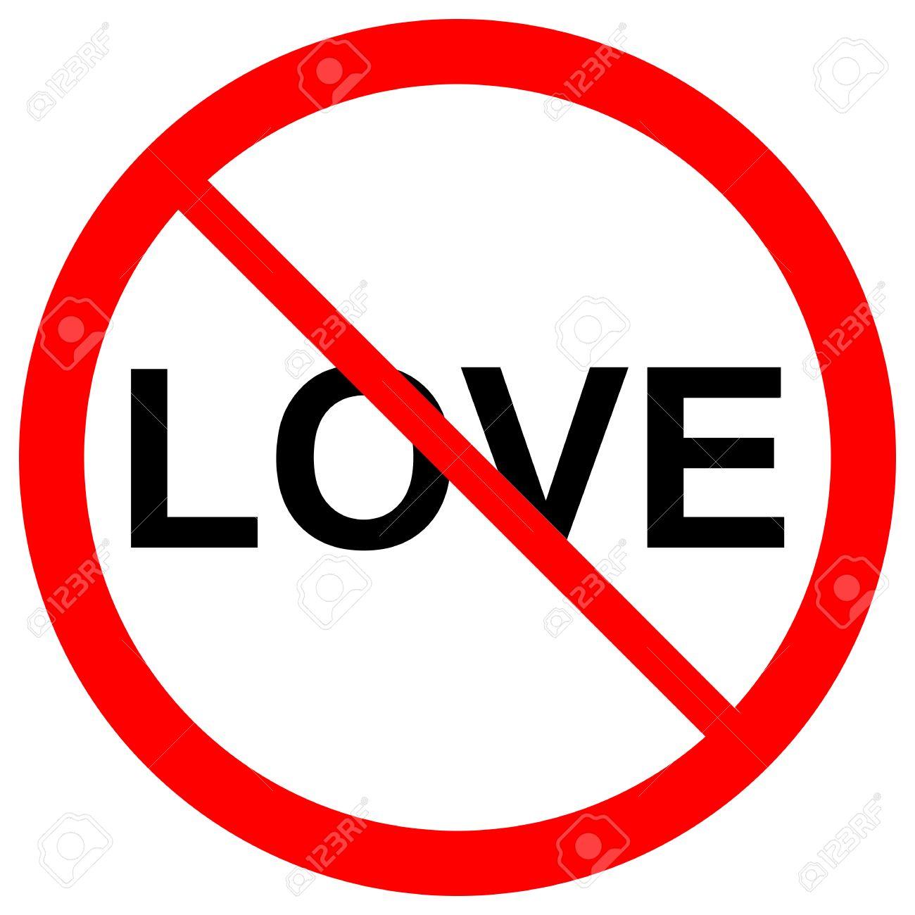 No love forbidden sign symbol on white background stock photo no love forbidden sign symbol on white background stock photo 45139997 buycottarizona