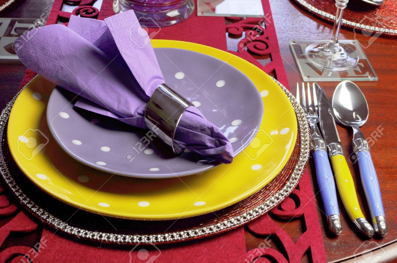 Beautiful dining table setting for fun birthday Thanksgiving Christmas or special occasion with yellow & Beautiful Dining Table Setting For Fun Birthday Thanksgiving ...