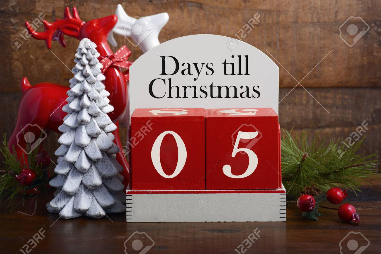 Image result for 5 days till christmas