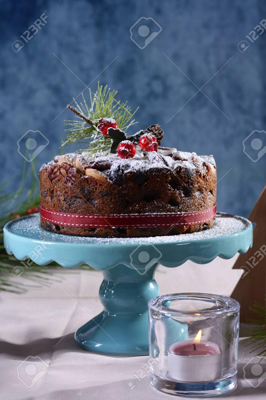 Pastel de navidad en ingles