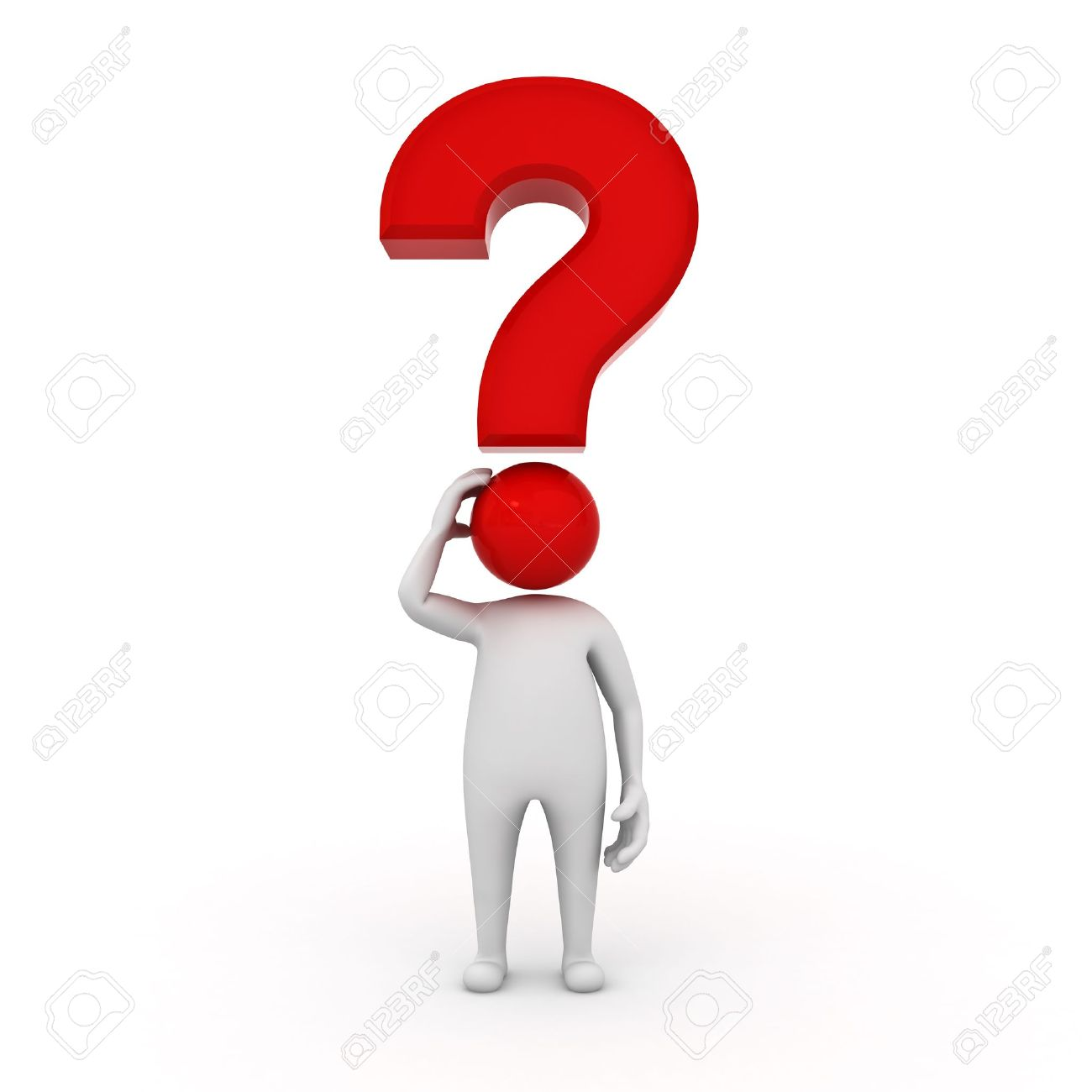 3d man character with red question mark isolated on white background 3d man character with red question mark isolated on white background stock photo 12432408 toneelgroepblik Image collections