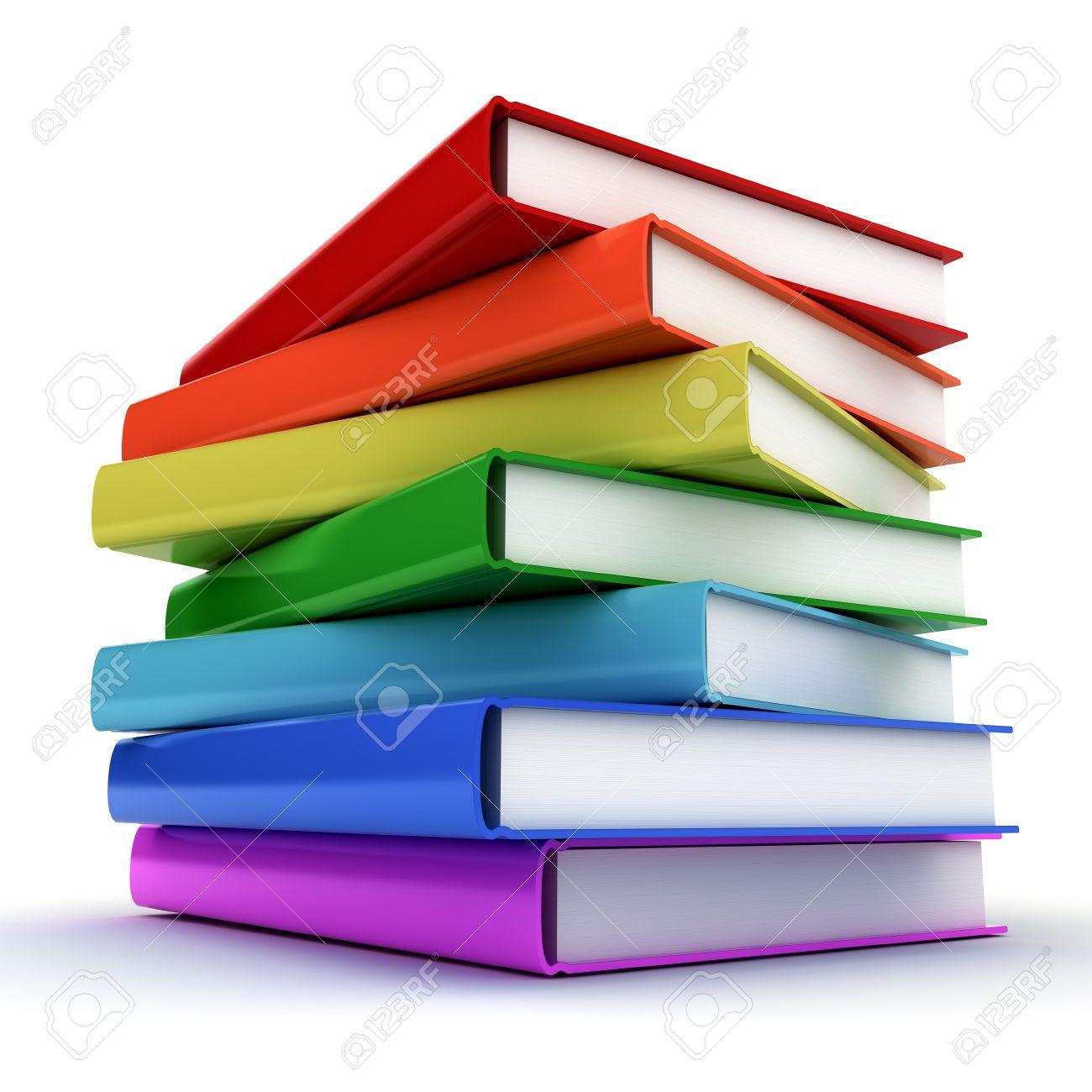 Hermosa Libros Coloridos Friso - Dibujos Para Colorear En Línea ...