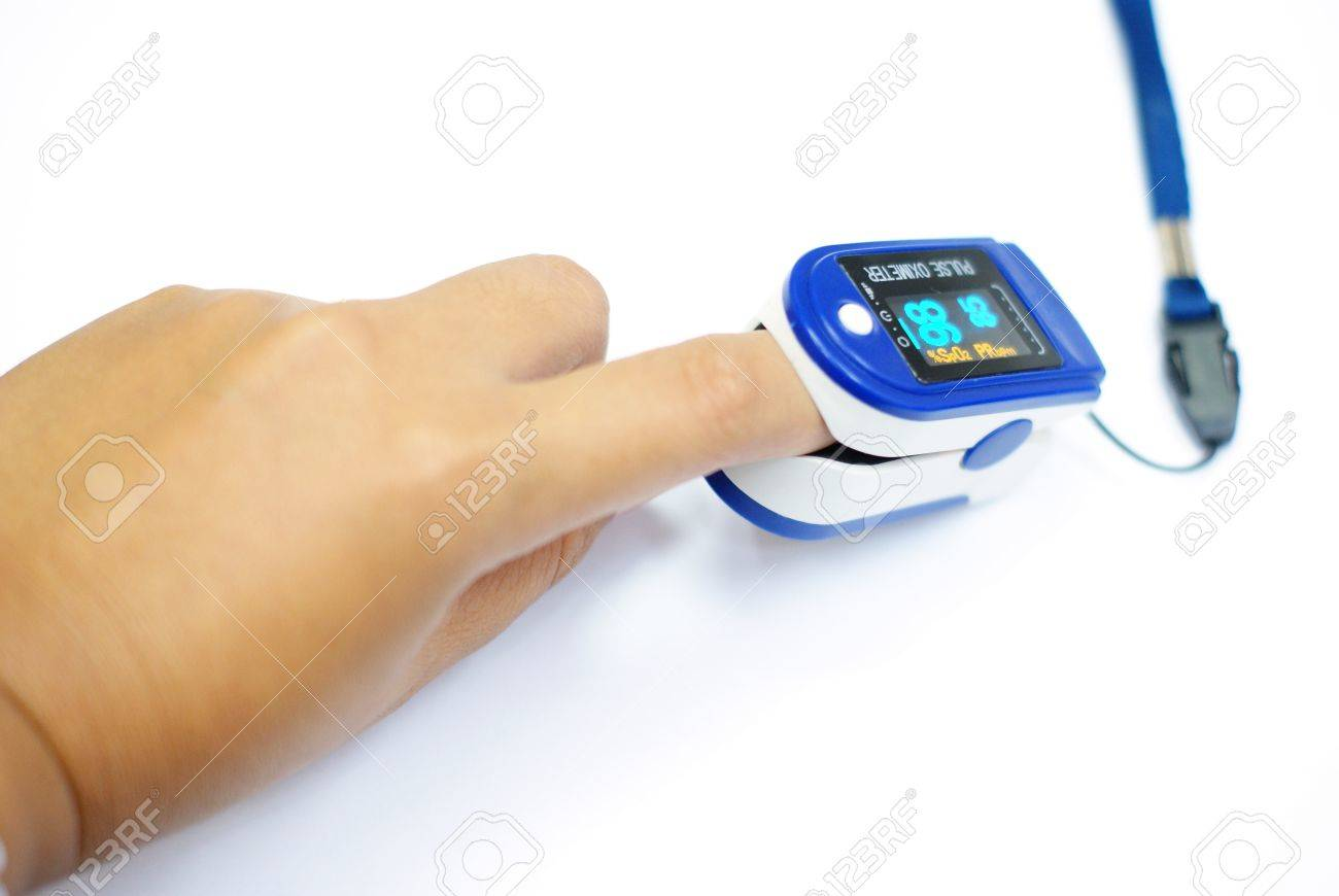 oxygen pulse meter, medical equipment - 22184489