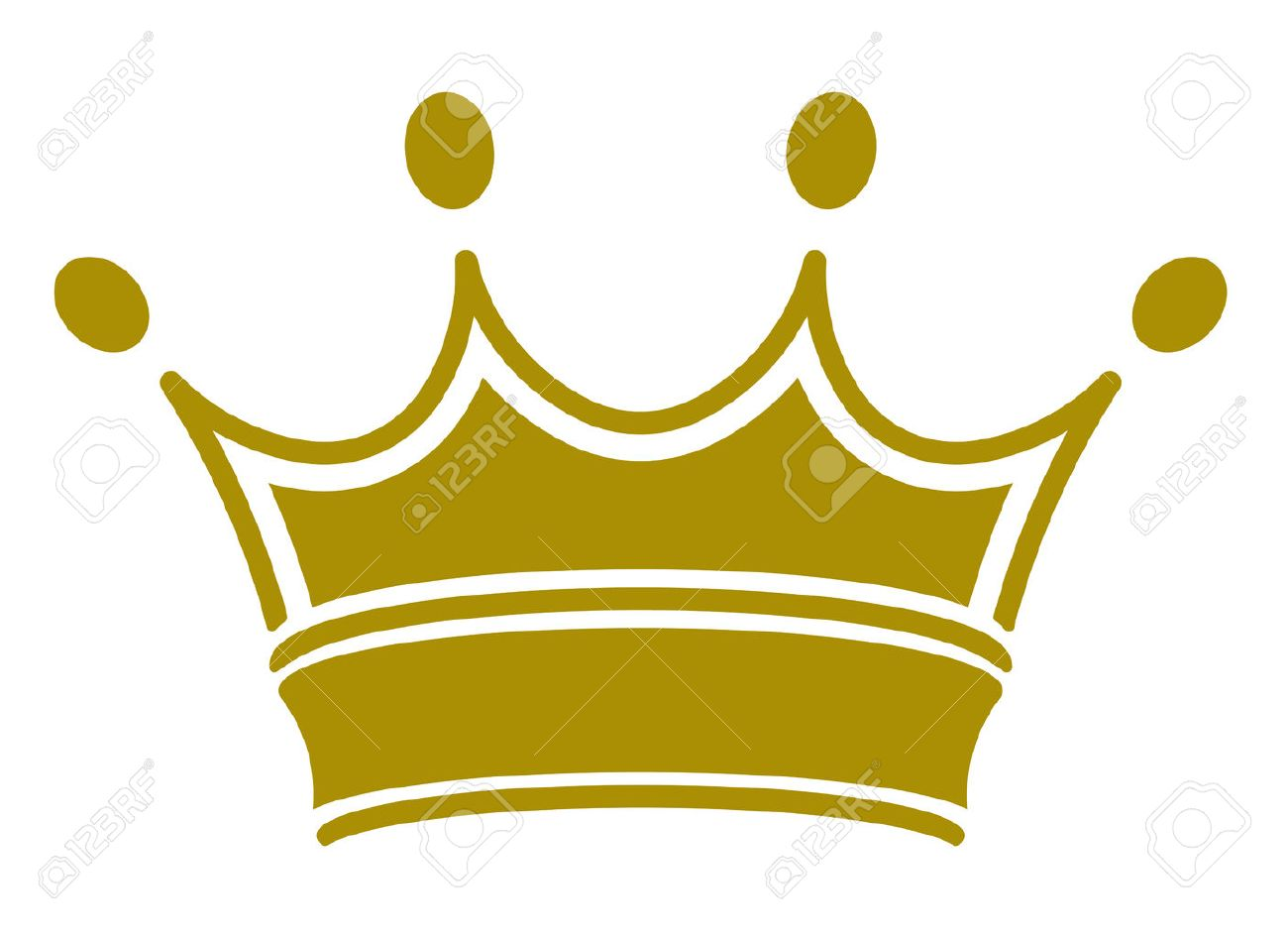 simple classic royal crown vector illustration you can simply rh 123rf com simple vector drawings simple vector graphic