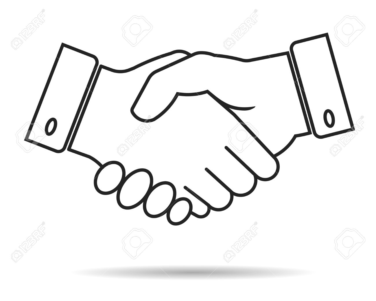 Handshake Contour Icon, Partnership, Business Finance Concept - Vector  Illustration Fully Editable, You Can Change Form And Color Cliparts,  Vector, Và Stock Hình ảnh Minh Họa Miễn Phí Bản Quyền. Image 43662752.