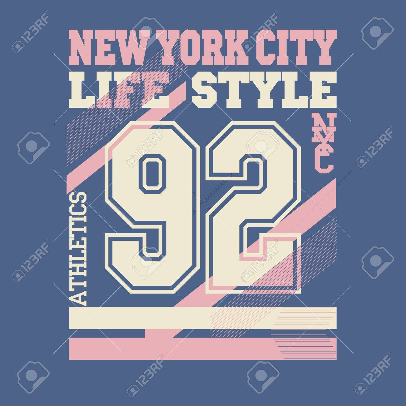 Design a t shirt nyc - New York City Typography Graphics Logo T Shirt Printing Design Nyc Original Wear