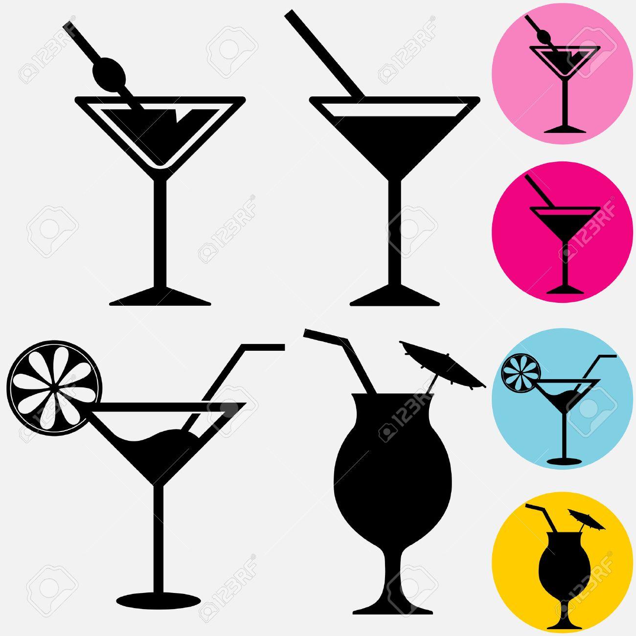 68 863 cocktail glass stock vector illustration and royalty free rh 123rf com Cocktails Clip Art Symbols Retro Cocktail Clip Art