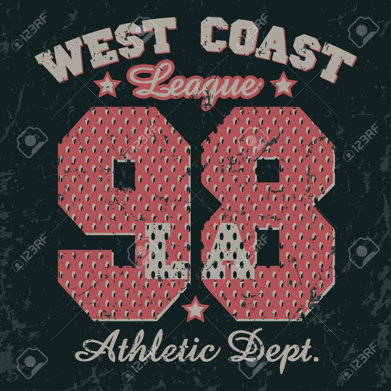 ba360a6f6 California Sport wear typography emblem, t-shirt stamp graphics, vintage tee  print,