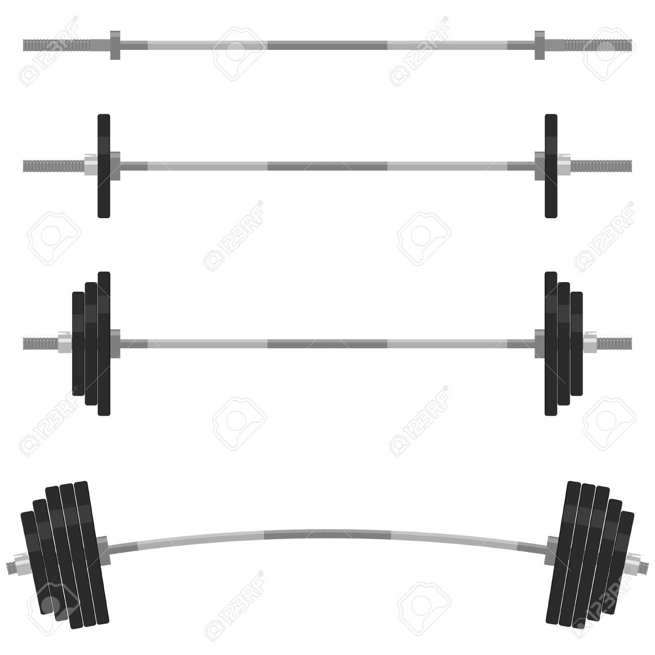 el levantamiento de pesas del juego