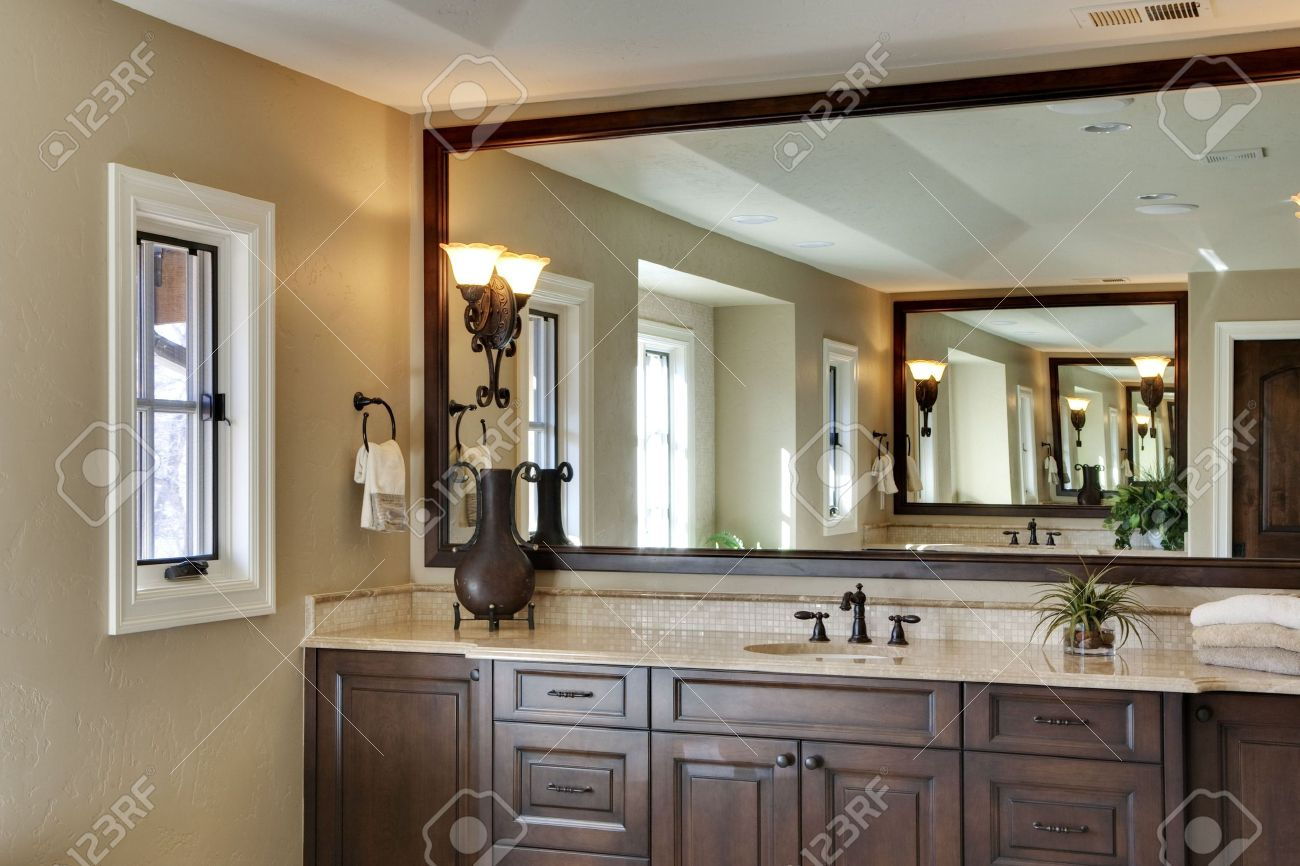 Bathroom with large. Bathroom Define