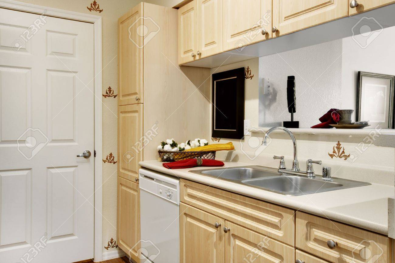 Tiny Apartment Kitchen Small Apartment Kitchen Stock Photo Picture And Royalty Free