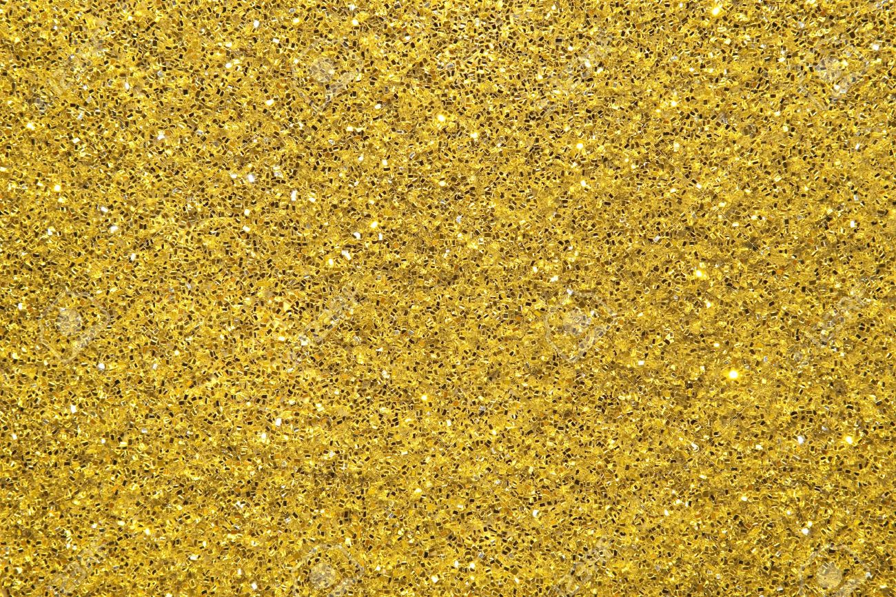 Beautiful Gold Glitter Background