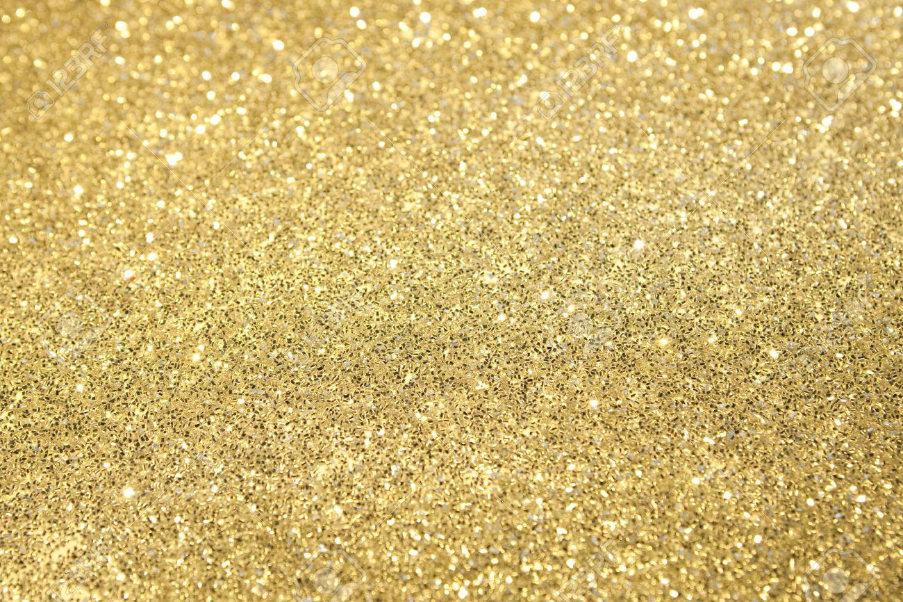 Gold Glitter Vector Gold Glitter Selective Focus