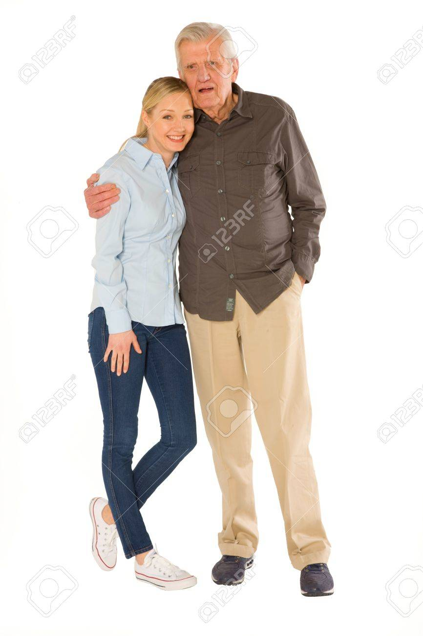 father in law with daughter in law Stock Photo - 20632851