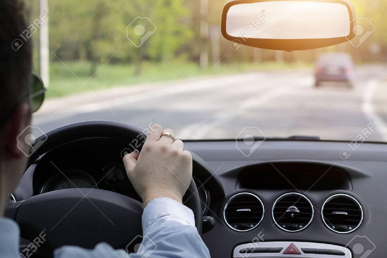 Driving a car - 35136730