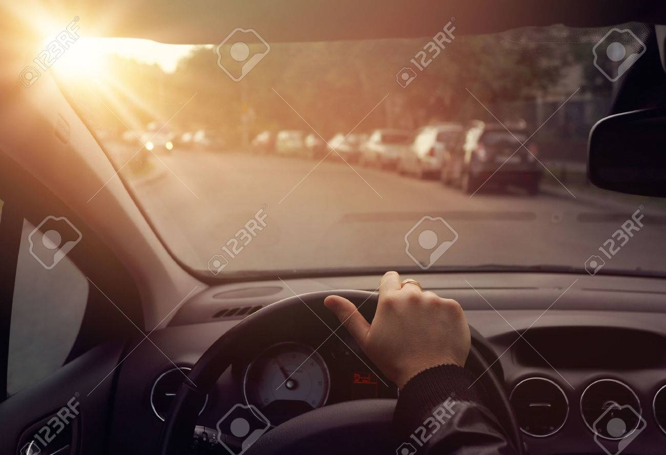 Quiet chillout driving car - 40810261