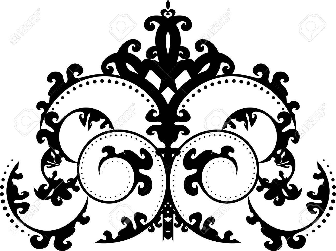an elegant, regal, intricate vector ornament illustration royalty free  cliparts, vectors, and stock illustration. image 7592308.  123rf