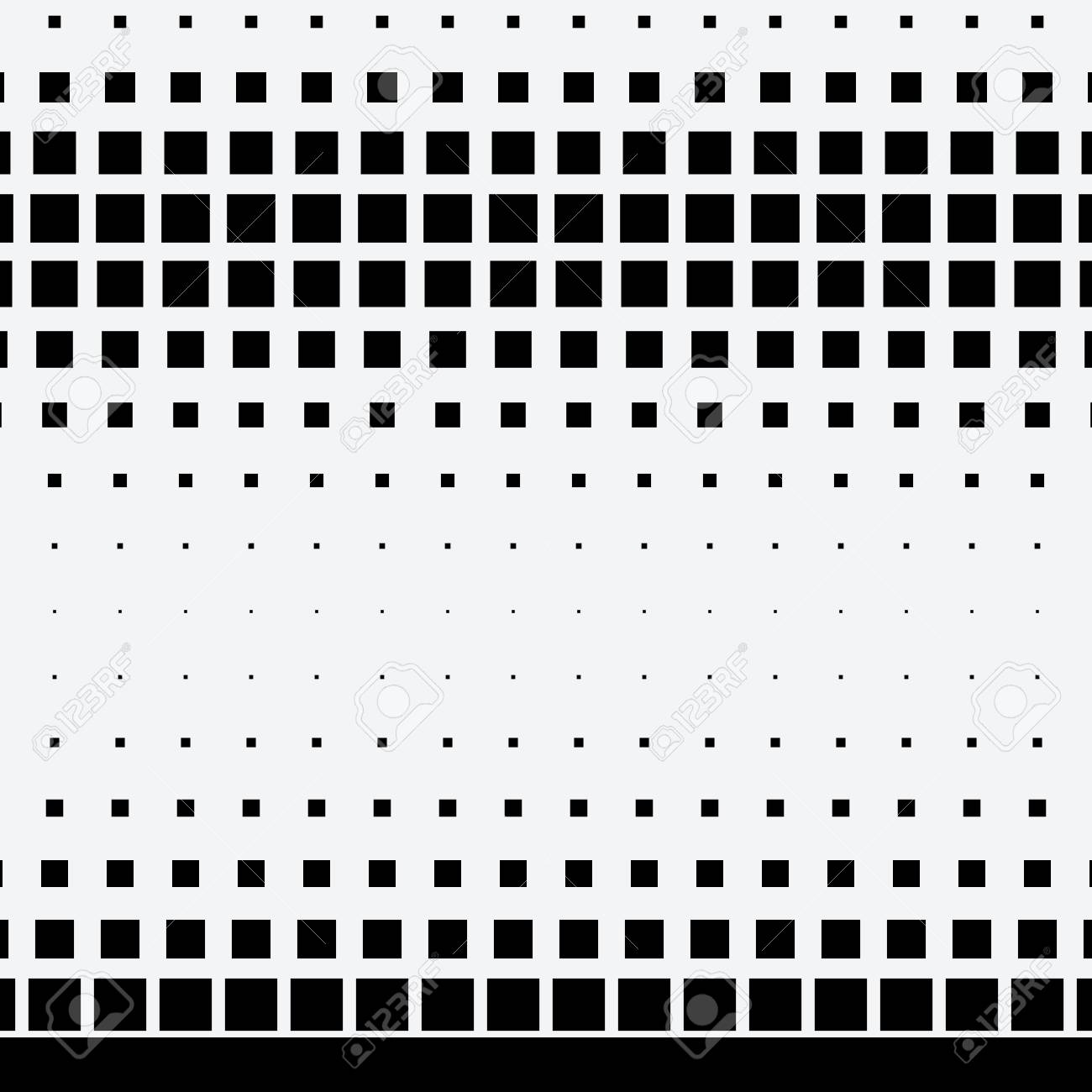 Halftone dots on white background - 91856067