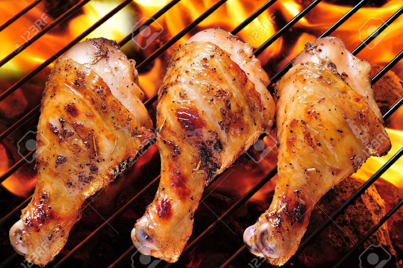 Bbq Chicken Stock Photos. Royalty Free Bbq Chicken Images And Pictures