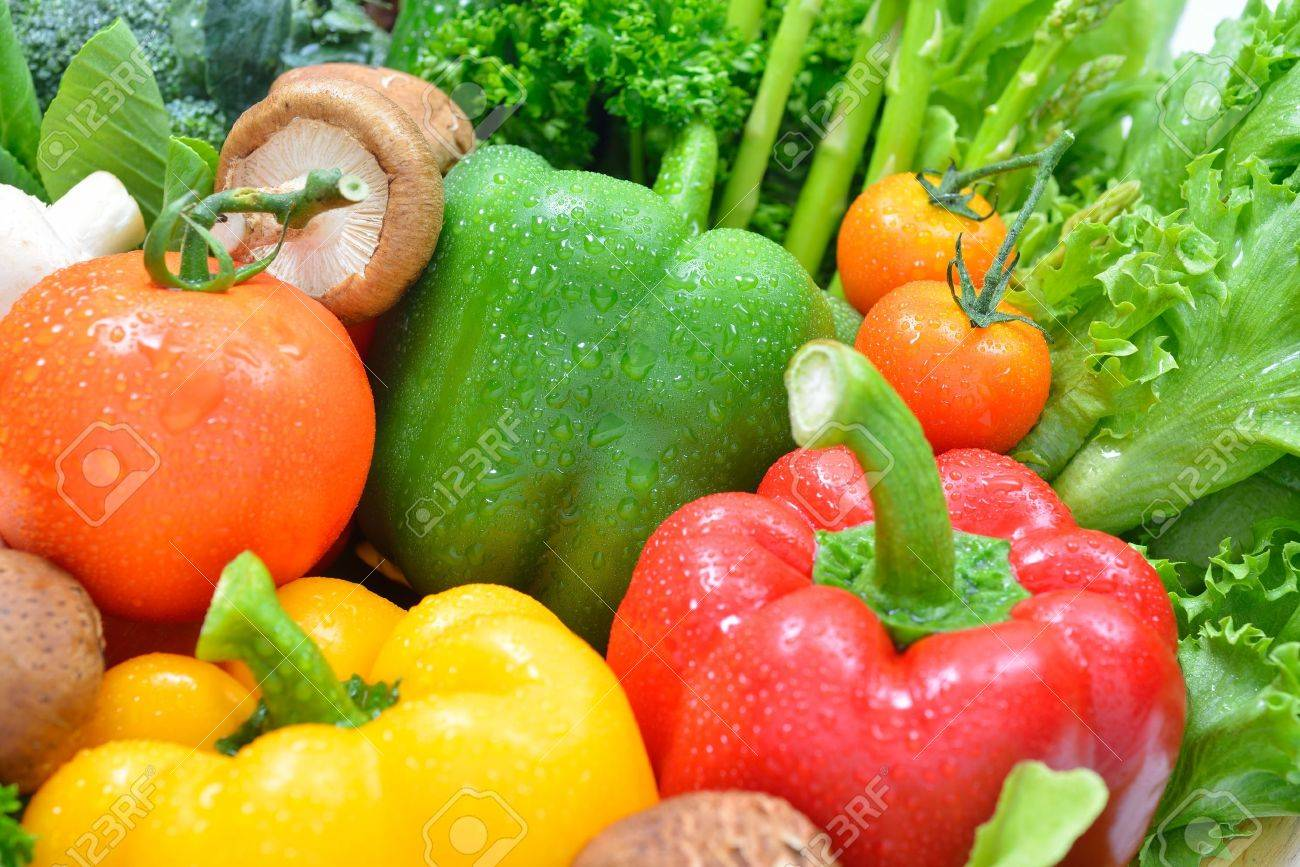 fresh fruits and vegetables - 19806582