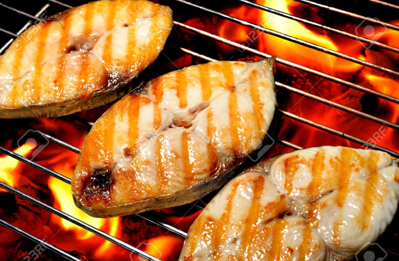 Barbecue Grills Images Barbecue Fish Grilled Fish on