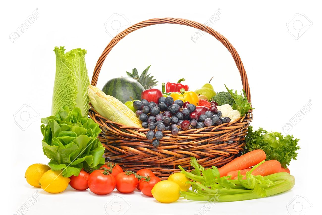 Fruit And Vegetable Basket   All The Best Fruit In 2017