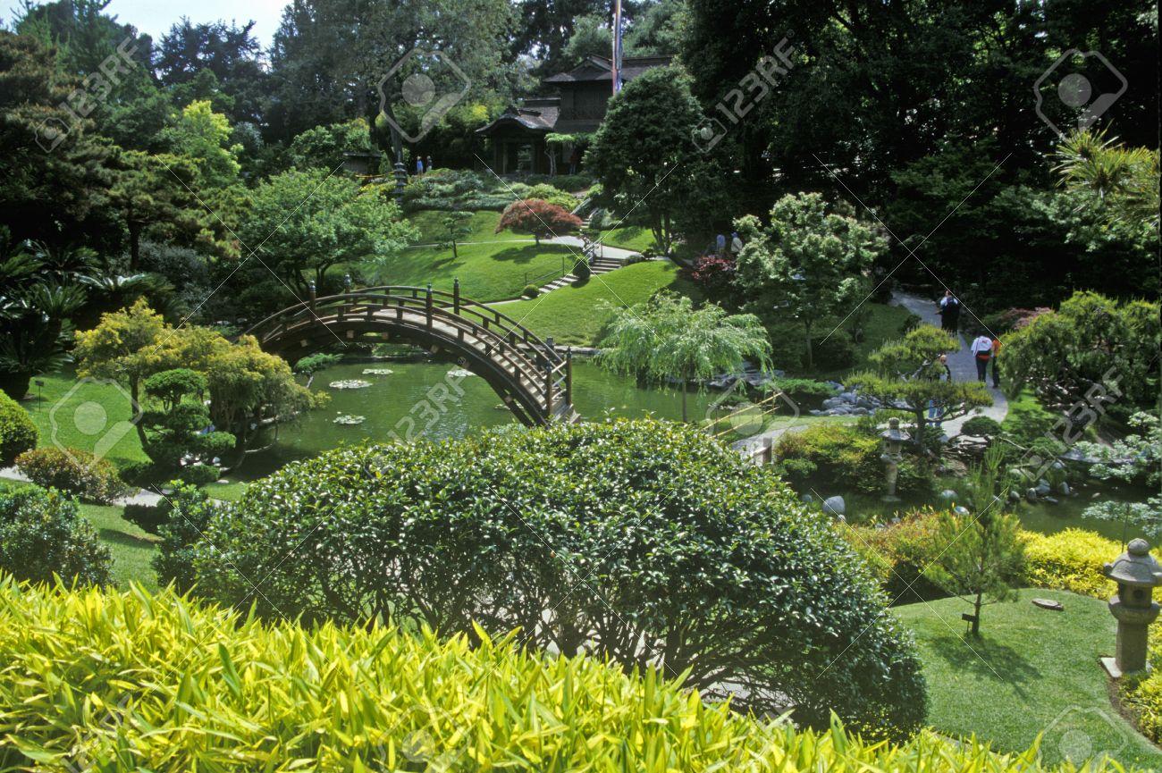 Huntington Library And Gardens, Japanese Gardens, Pasadena, CA Stock Photo    20515980